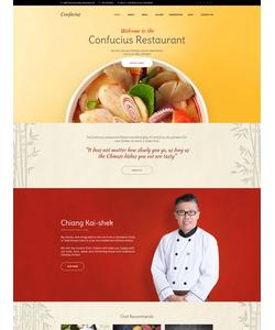 WordPress šablona na téma Café a restaurace č. 58926
