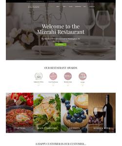 WordPress šablona na téma Café a restaurace č. 60111