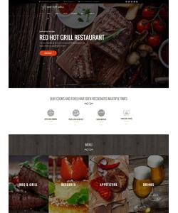 WordPress šablona na téma Café a restaurace č. 60112