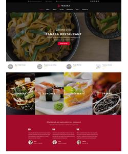 WordPress šablona na téma Café a restaurace č. 60113
