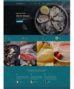 WordPress šablona na téma Café a restaurace č. 60114