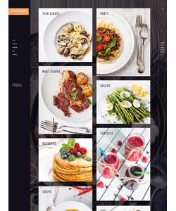 WordPress šablona na téma Café a restaurace č. 61165