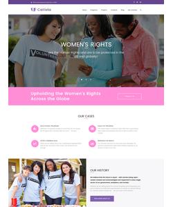 WordPress šablona na téma Charita č. 62359