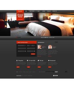 WordPress šablona na téma Hotely č. 43791