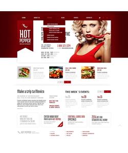 WordPress šablona na téma Café a restaurace č. 43854