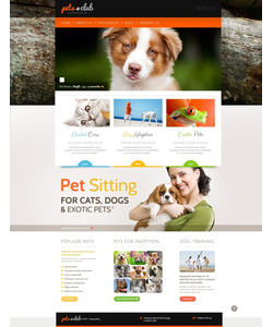 WordPress šablona na téma Zvířata č. 44159
