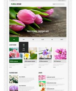 WordPress šablona na téma Květiny č. 44583