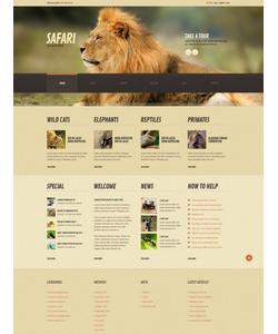 WordPress šablona na téma Zvířata č. 44843