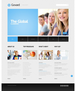 WordPress šablona na téma Vzdělávání č. 45013