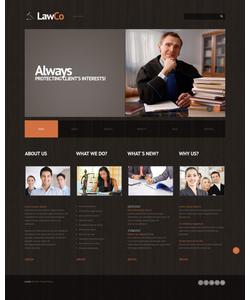 WordPress šablona na téma Zákon č. 45014