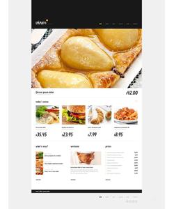 WordPress šablona na téma Café a restaurace č. 45241