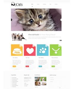 WordPress šablona na téma Zvířata č. 45582