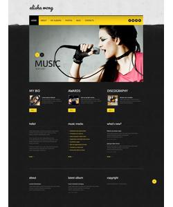 WordPress šablona na téma Osobní stránky č. 45880