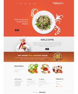 WordPress šablona na téma Café a restaurace č. 46572