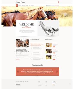 WordPress šablona na téma Zvířata č. 47403