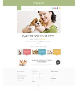 WordPress šablona na téma Zvířata č. 47407