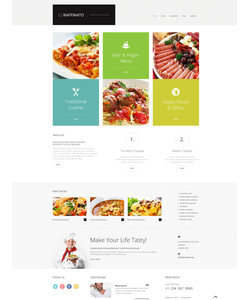 WordPress šablona na téma Café a restaurace č. 47831