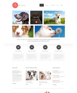 WordPress šablona na téma Zvířata č. 47998