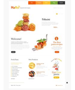 WordPress šablona na téma Café a restaurace č. 48303