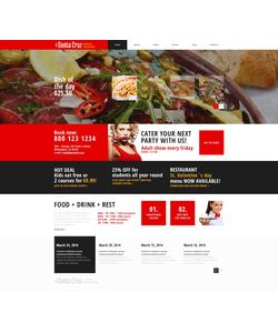 WordPress šablona na téma Café a restaurace č. 48677