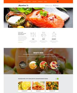 Joomla šablona na téma Café a restaurace č. 52305