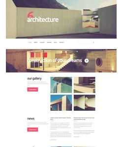 Joomla šablona na téma Architektura č. 52409