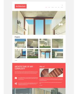 Joomla šablona na téma Architektura č. 52411