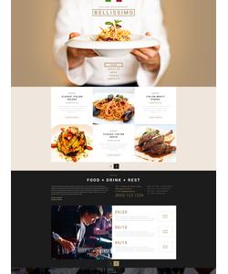 Joomla šablona na téma Café a restaurace č. 53111