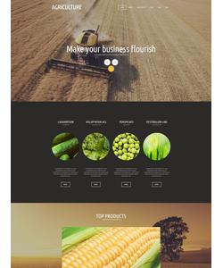 Joomla šablona na téma Zemědělství č. 53147