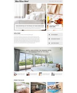Joomla šablona na téma Hotely č. 53665