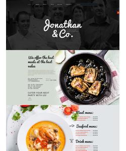Joomla šablona na téma Café a restaurace č. 53964