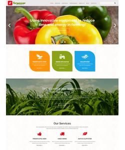 Joomla šablona na téma Zemědělství č. 54724
