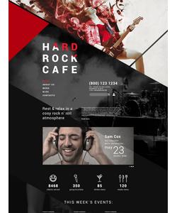 Joomla šablona na téma Café a restaurace č. 55369