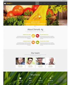 Joomla šablona na téma Zemědělství č. 55599
