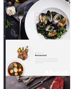 Joomla šablona na téma Café a restaurace č. 57555