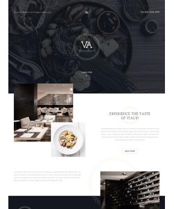 Joomla šablona na téma Café a restaurace č. 57781
