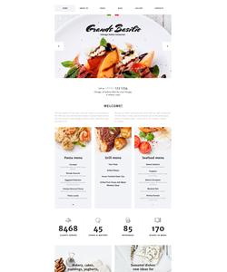 Joomla šablona na téma Café a restaurace č. 58199