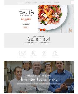 Joomla šablona na téma Café a restaurace č. 58368