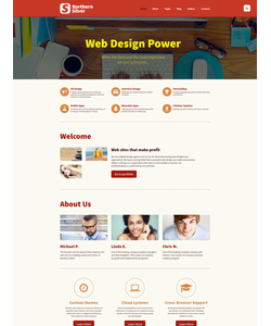 Joomla šablona na téma Web design č. 58867