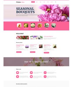 Joomla šablona na téma Květiny č. 60091