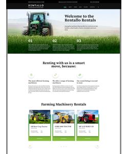 Joomla šablona na téma Zemědělství č. 61204
