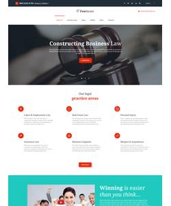 Joomla šablona na téma Zákon č. 62001