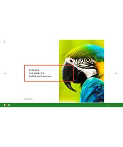 Joomla šablona na téma Zvířata č. 62008