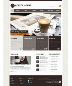 Joomla šablona na téma Café a restaurace č. 37857