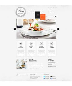 Joomla šablona na téma Café a restaurace č. 38242