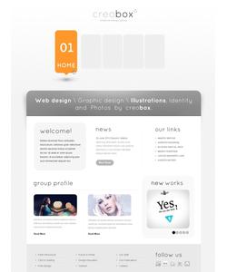 Joomla šablona na téma Web design č. 38448