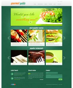 Joomla šablona na téma Café a restaurace č. 39502