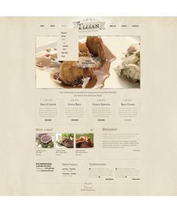 Joomla šablona na téma Café a restaurace č. 40191