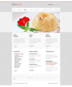 Joomla šablona na téma Café a restaurace č. 40400