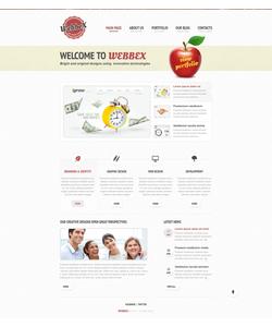 Joomla šablona na téma Web design č. 40664